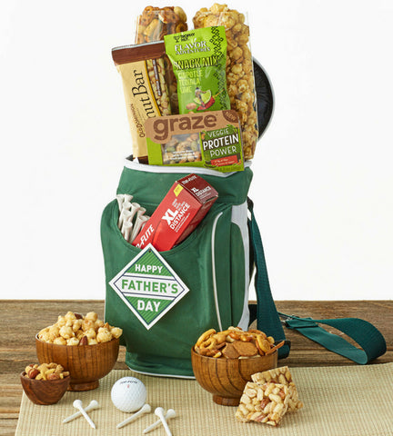 Happy Father's Day Golf Bag & Snacks