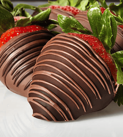 SUGAR FREE Chocolate Strawberries.