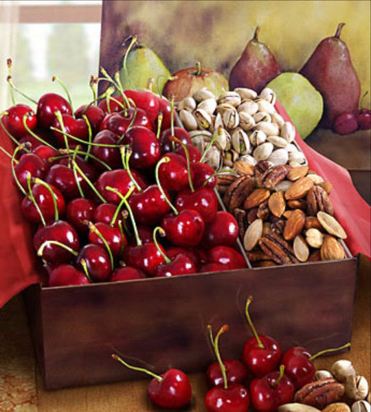 Cherry, Pistachio & Mixed Nuts Box