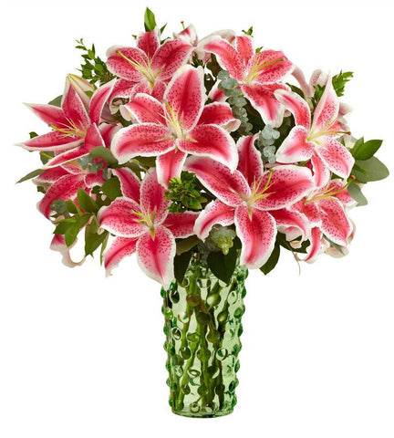 Valentine's Pink Lily Bouquet. - Exclusive For Tech Bargains Customers - OOS