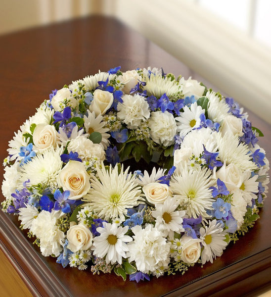 Soft Breeze Cremation Wreath - Florists.com  - 3