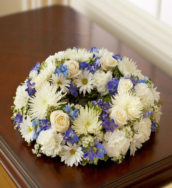 Soft Breeze Cremation Wreath - Florists.com  - 2