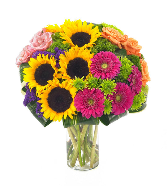Sunflowers and Daisies Bouquet
