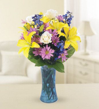 Meadows of Bliss - Flowers - White - Pink - Yellow - Daisies - Roses - Florists.com - 2