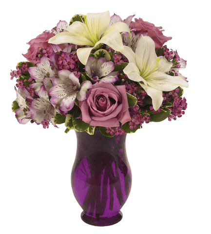 Royal Purple Bouquet