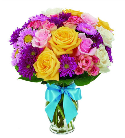 Brighten Your Birthday Bouquet.