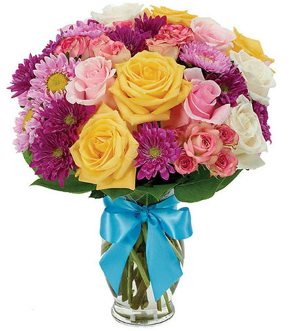 Classic Colorful Bouquet .