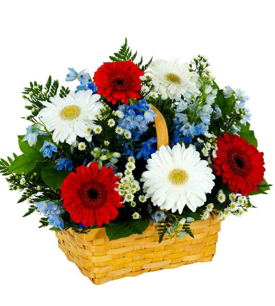 Star Spangled Basket