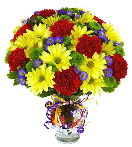 Primary Color Bouquet