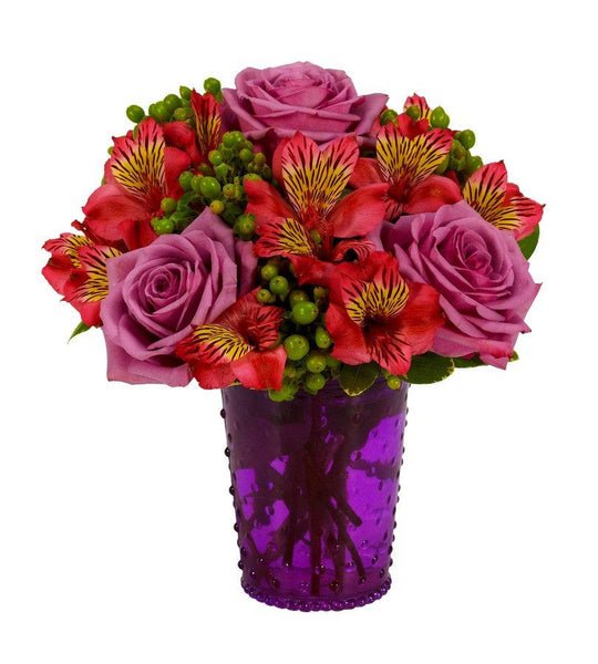 Visions of Pink and Purple Bouquet
