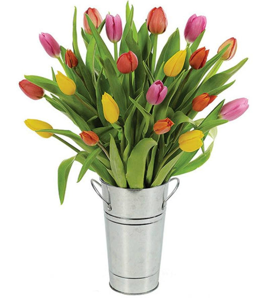 Spring Tulips Planter. - OOS