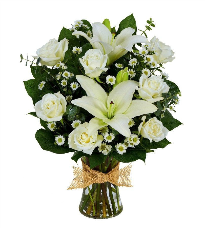 Tribute In White Florists Com