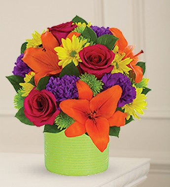 Lily and Rose Fireworks - Florists.com  - 2