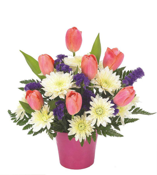 Tulips & Daisies Bouquet - OOS