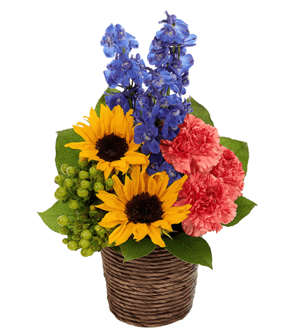 Fresh Sunflower Bouquet