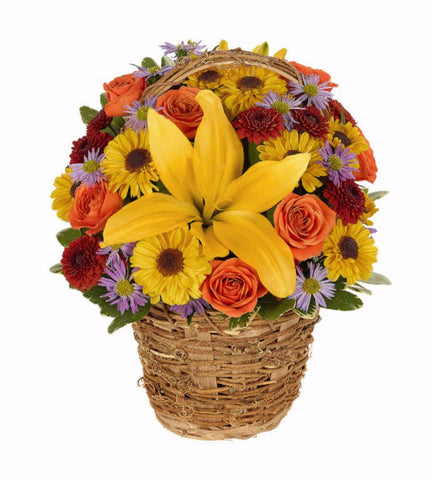 Harvest Fall Basket