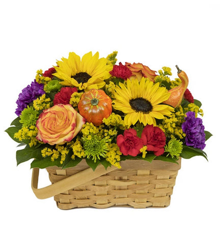 Bountiful Blooms Basket