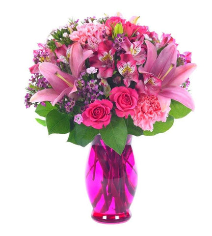 Vivacious Purple and Pink Bouquet.