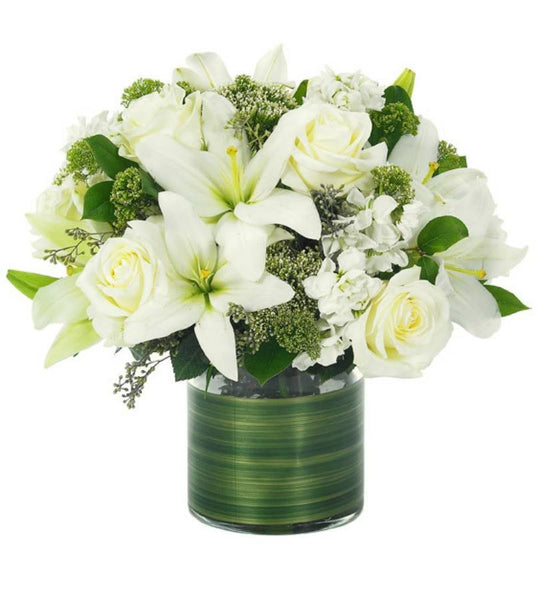 White Sympathy Bouquet - Florists.com  - 2