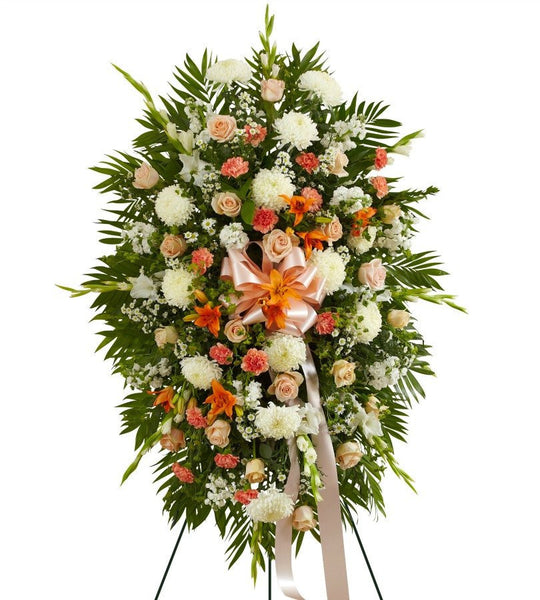 Peach and White Sunrise - Florists.com  - 3