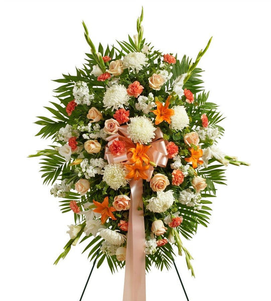 Peach and White Sunrise - Florists.com  - 2