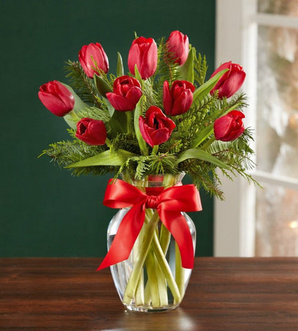 Let's Be Jolly Holiday Tulips