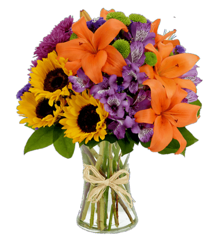 Cheerful Country Sunflowers and Daisies - OOS