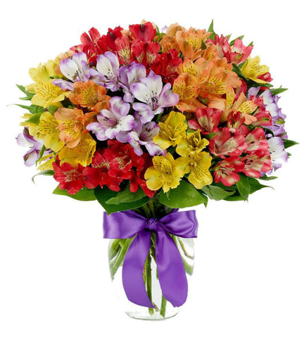 Alstromeria Rainbow Bouquet.