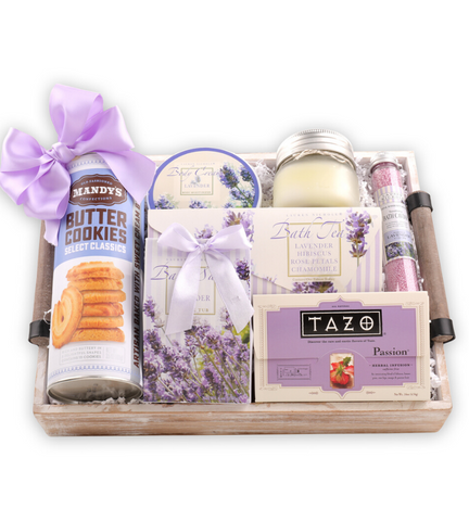 Enjoy & Relax Gift Basket