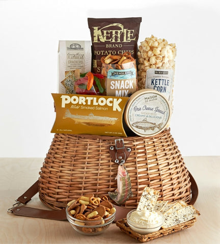 Fishing Snack Gift Basket