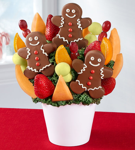 Glad Tidings Gingerbread Bouquet
