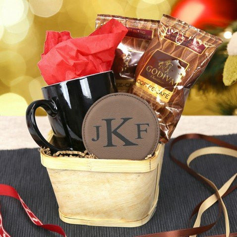 """A Cup Of Joe"" Personalized Coffee Gift Set - Florists.com"