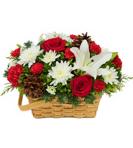 Joyful Wishes Basket