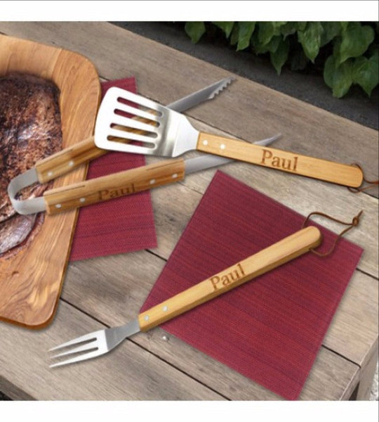 Personalized BBQ Tool Set