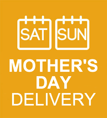 Delivery is either Saturday or Sunday