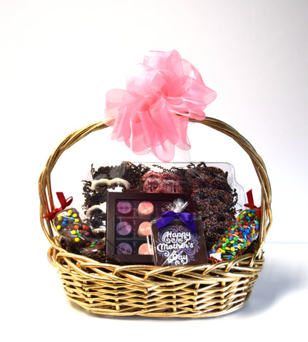 Mother's Day Chocolate Basket