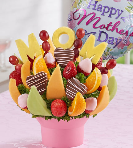 Best Mom Fruit Bouquet