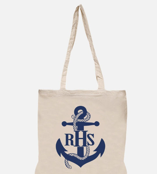 Personalized Anchor Beach Tote