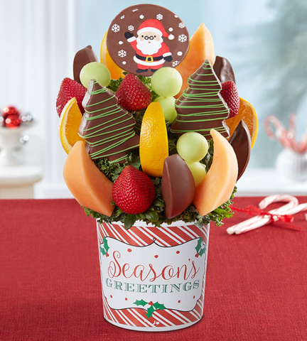 Santa's Seasons Greeting Bouquet