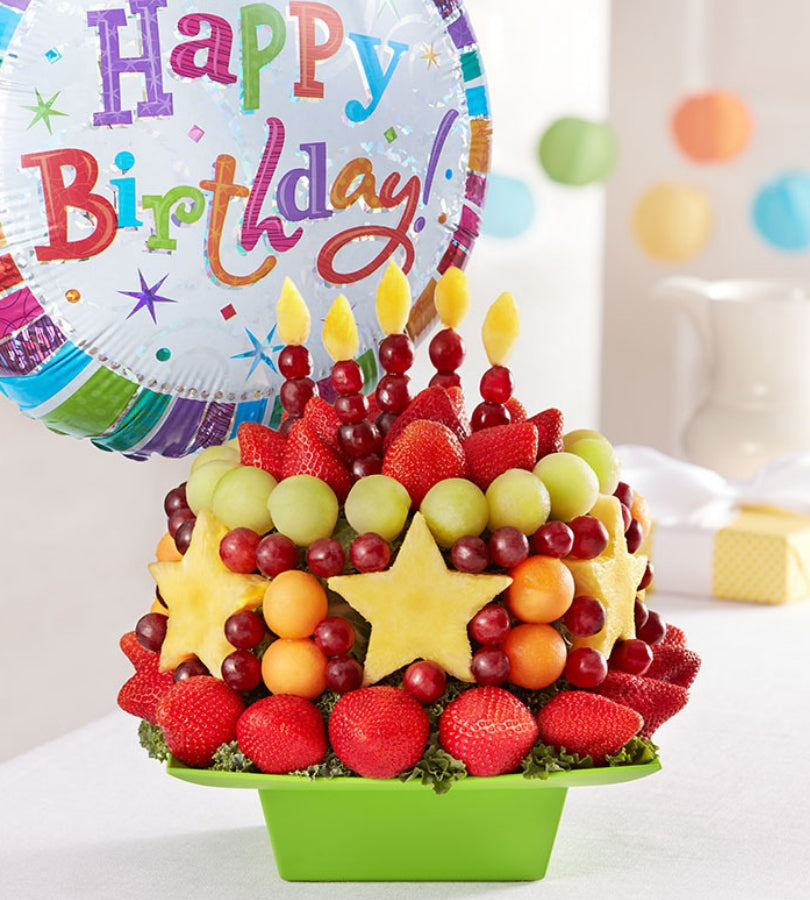 Stupendous Not Your Average Fruit Cake Florists Com Funny Birthday Cards Online Alyptdamsfinfo