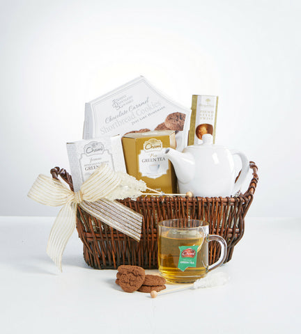 Tea & Teapot Gift Basket