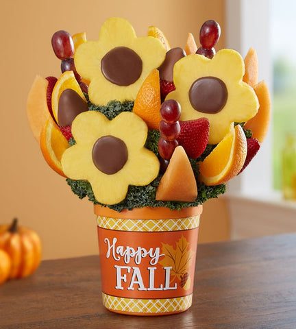Pineapple Daisies Fruit Bouquet
