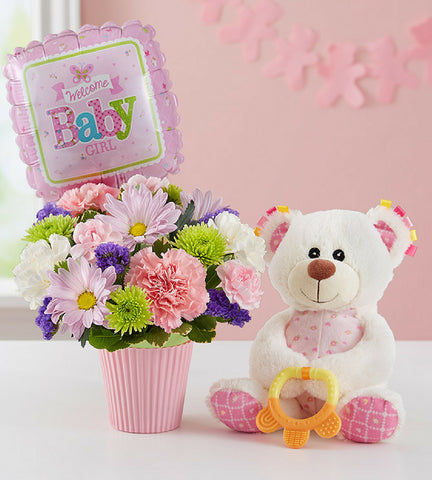 Newborn Girl Gift Set