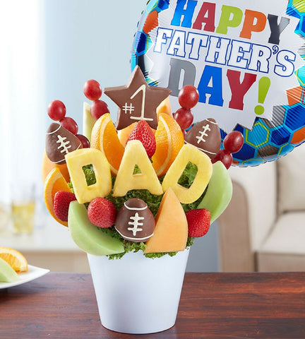 Happy Father's Day Fruit Arrangement