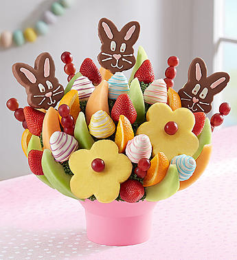 Easter Bunny Fruit Bouquet