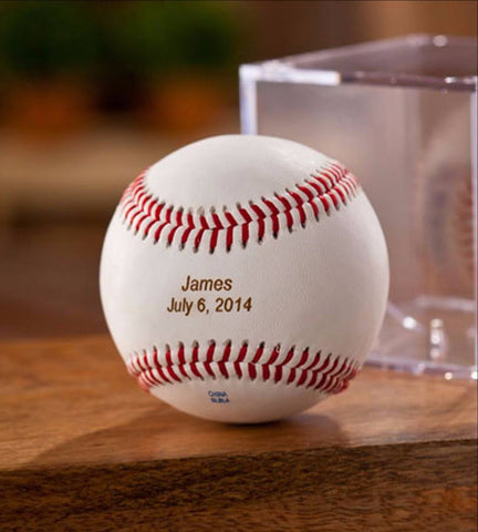 Personalized Baseball Cube