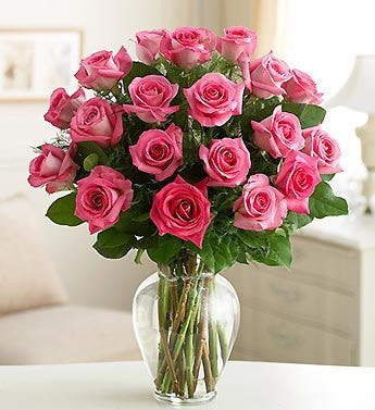 Exquisite Pink Roses - Florists.com