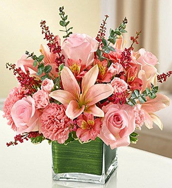Elegant All Pink Bouquet