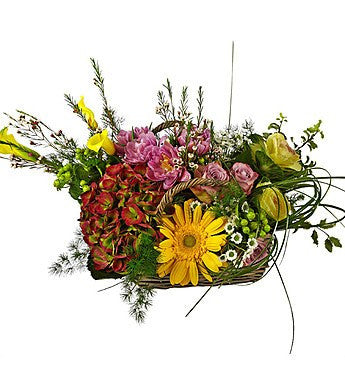 Basket of Beautiful Blooms