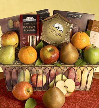 Parisian Fruit Gift Basket